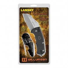 Нож Lansky World Legal/Blademedic Combo, в блистере, WRLDPAC