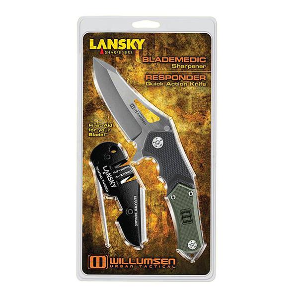 "Нож Lansky 7"" Responder/Blademedic Combo, в блистере, UTR7"